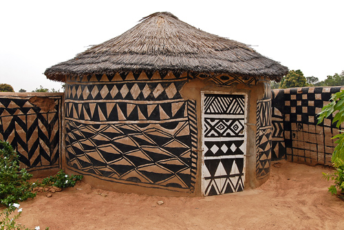 Burkina Faso: Traditional Hut in Tiebele